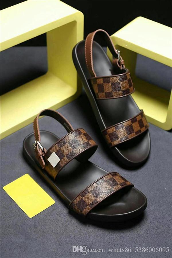 2018 Men Arizona Sandals Flat Sandals Platform fb0a70cb32eb