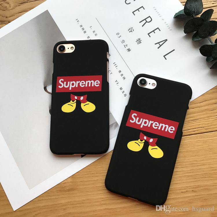 Mouse Phone Cases Brand Popular Trend For Iphone X PC Hard Matte Feel Cell Phone Case For Iphone 6 7 8 Plus