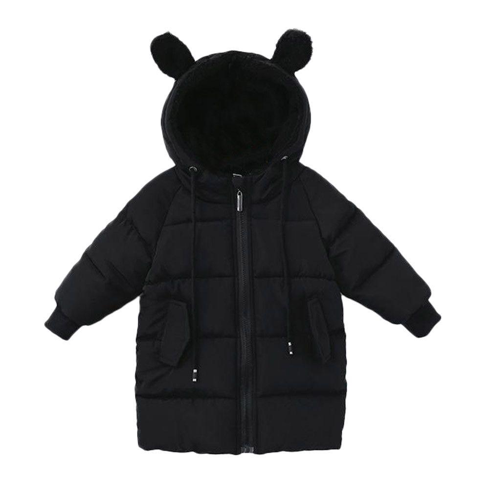 Baby Girls Cute Autumn Winter Warm Coats Jackets Outerwear Outwear Cloak Button Tracksuit Sweatshirt Clothes