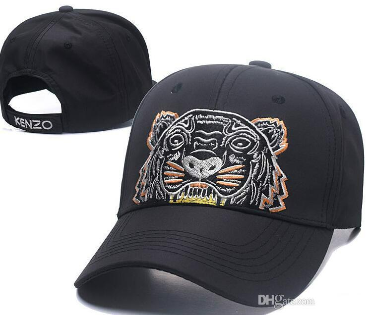 2018 Designer Mens Baseball Caps New Brand Tiger Head Hats Gold Embroidered  Bone Men Women Casquette Sun Hat Gorras Sports Cap Drop Shipping Fitted Hats  ... cdafd1f72df