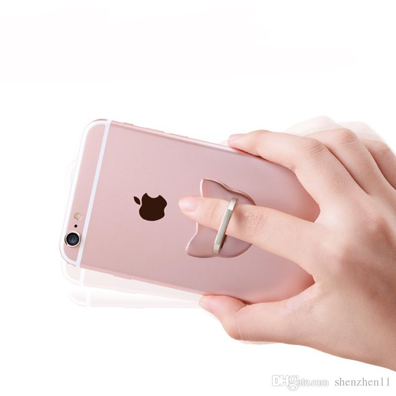 Finger Ring Handy Ring Halter Halterung Metall Faule Ring Schnalle Handyhalterungen Halterung 360 Grad Ständer Halter OTH765