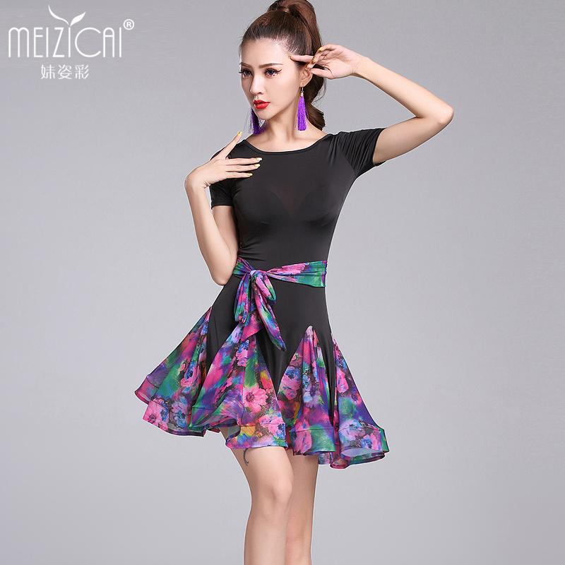 b29486864 2019 New Latin Dance Costumes Women Tango Salsa Rumba Modern Dance Dress  Latin Dancing Clothes Dancewear M, L, XL From Yonnie, $44.44 | DHgate.Com