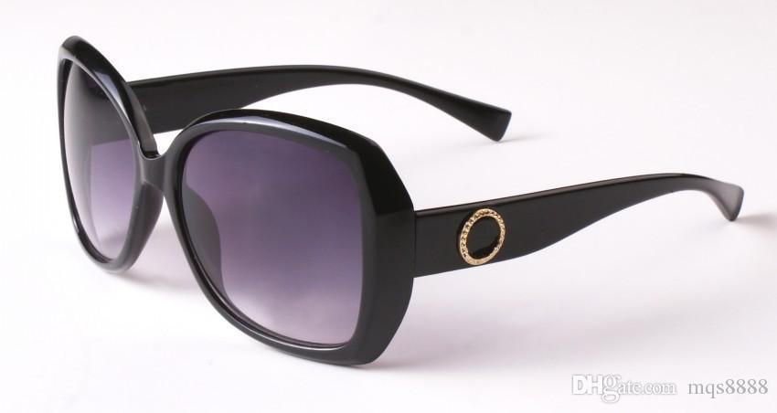 ee191e1ab Compre Nova Moda Clássico Óculos De Sol Atitude Homens E Mulheres Óculos De  Sol Grande Quadro Estilo Vintage Design Exterior Modelo Clássico 8012 De  Mqs8888 ...