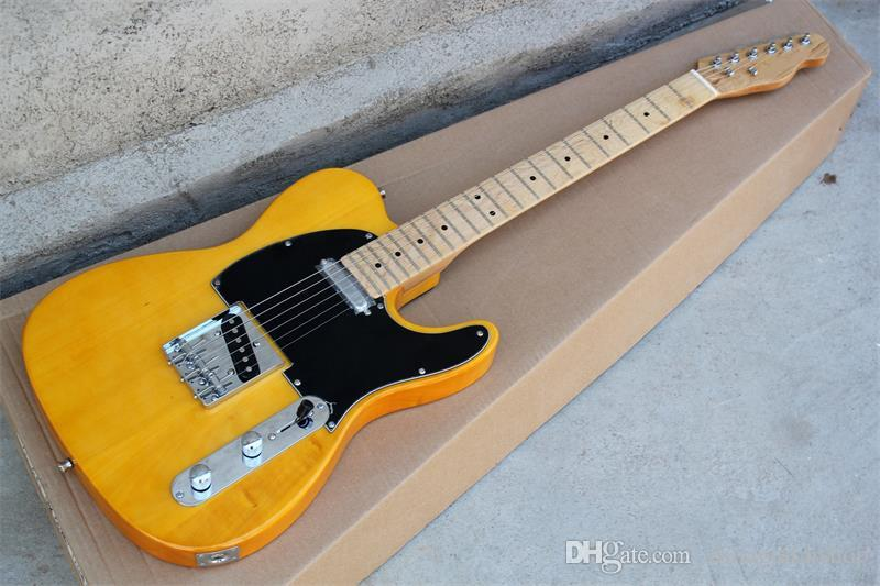 High Quality Custom Factory Customized 52 Tv Yellow Guitar American