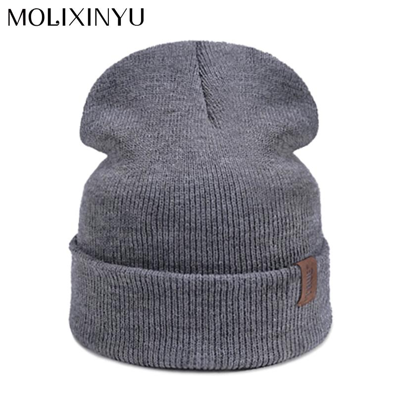 24d86e251e9 MOLIXINYU Fashion Children Hat For Boys Girls Winter Baby Hat Warm Knitted  Baby Beanies Cotton Boys Girls Cap Hats   Caps Cheap Hats   Caps MOLIXINYU  ...