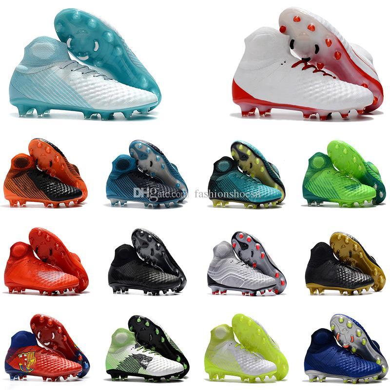 Compre Nuevos Zapatos De Fútbol De Los Hombres De Llegada Tacos Magista Obra  II Fg Zapatos De Fútbol Momento Brillante Zapatos De Fútbol Al Aire Libre  De ... 29b7c9edd6483
