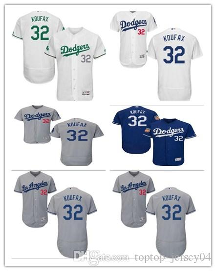 1b7be870f ... coupon code for 2018 2018 custom los angeles dodgers 32 sandy koufax  menwomenyouth mens style baseball