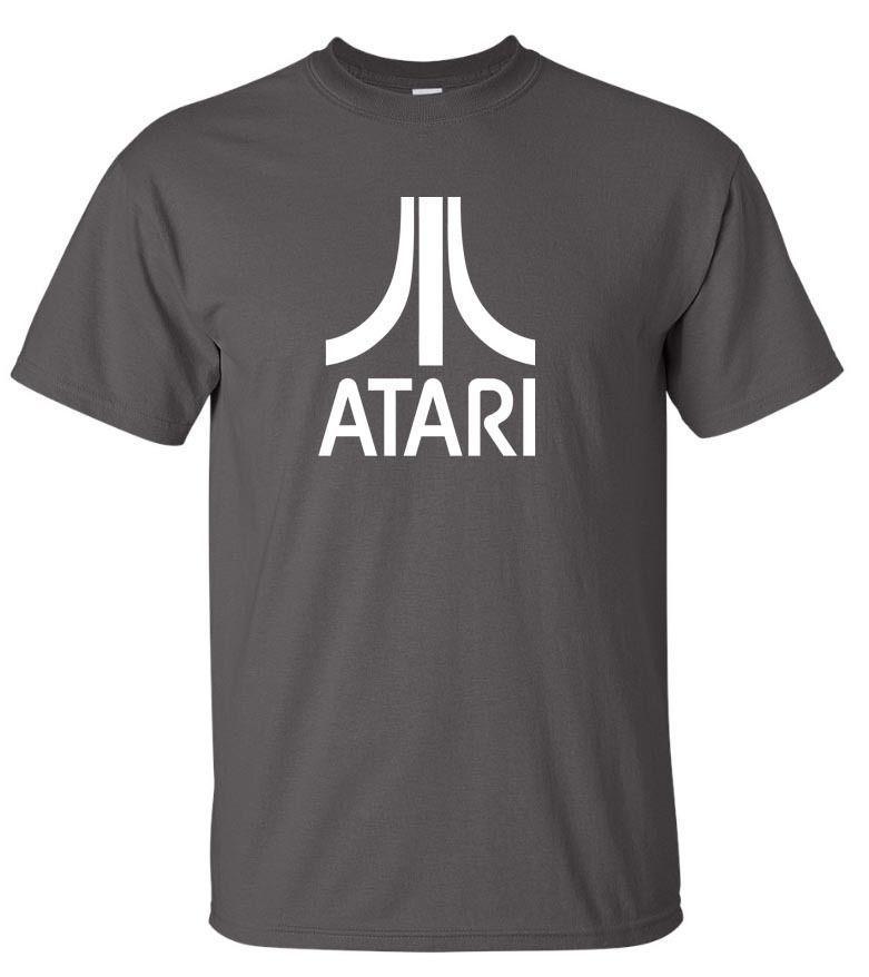 atari tshirt  ATARI T Shirt S To 6XL Classic Retro Gaming Funny Unisex Casual ...