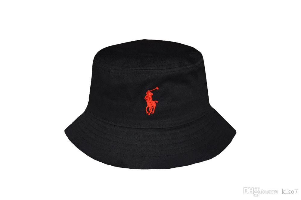 0b2aa7580f0 Fashion 2018 Bucket Cap Foldable Fishing Caps Polo Bucket Cap Good Beach  Sun Visor Sale Folding Man Bowler Cap For Mens Womens Good Quality Black  Floppy Hat ...