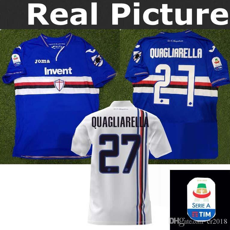 Mejor Calidad Sampdoria 18 19   27 Quagliarella   92 GREGOIRE DEFREL Sala 7    Camiseta De Fútbol Local Camisetas De Fútbol Al Por Mayor Por Cr2018 5673db6a83548
