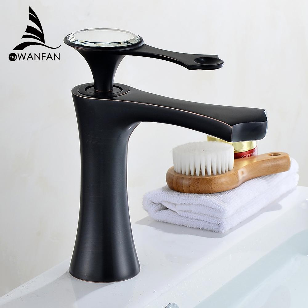 2019 Basin Faucets Modern Gold Faucet Single Hole Bathroom Faucets