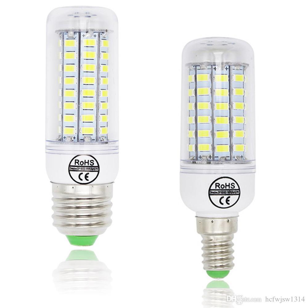 Led Corn Bulb E27 E14 Candle Light Bombillas 220v Smd 5730 Home ...