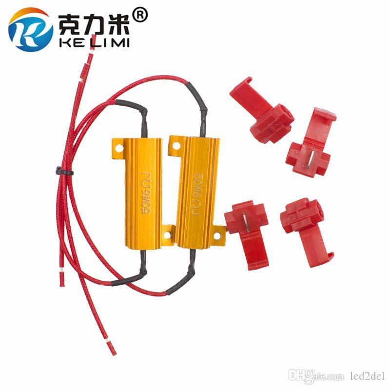 2x led load resistor watt 10w 25w 50w 6ohm 8ohm canbus wiring rh dhgate com