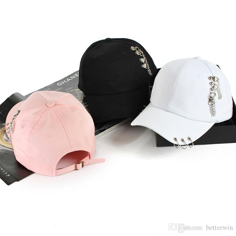 ff4e3572 / SINGYOU Punk Baseball Caps 2018 Casual Iron Ring Solid Cotton Snapback  Cap Casquette Hat Sun Hats Richardson Hats Headwear From Betterwin, $58.3|  DHgate.
