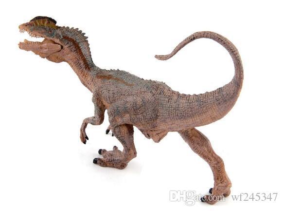 50% Jurassic Park Dinosaur World Model giocattoli postura del giocattolo Niu lungo Double Crown Dragon Raptor mobili di Halloween Forniture bambini Giocattoli bambini