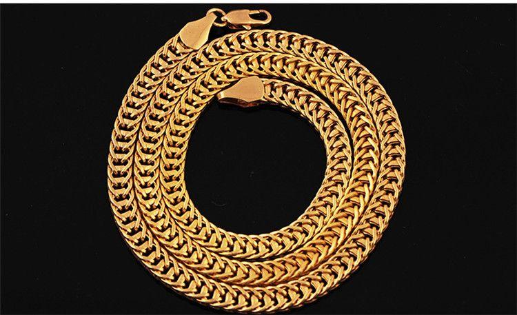 Gioielli Hip Hop 6MM Collana a catena in oro Nuovo arrivo Accessori Hip Hop Collana di moda uomo
