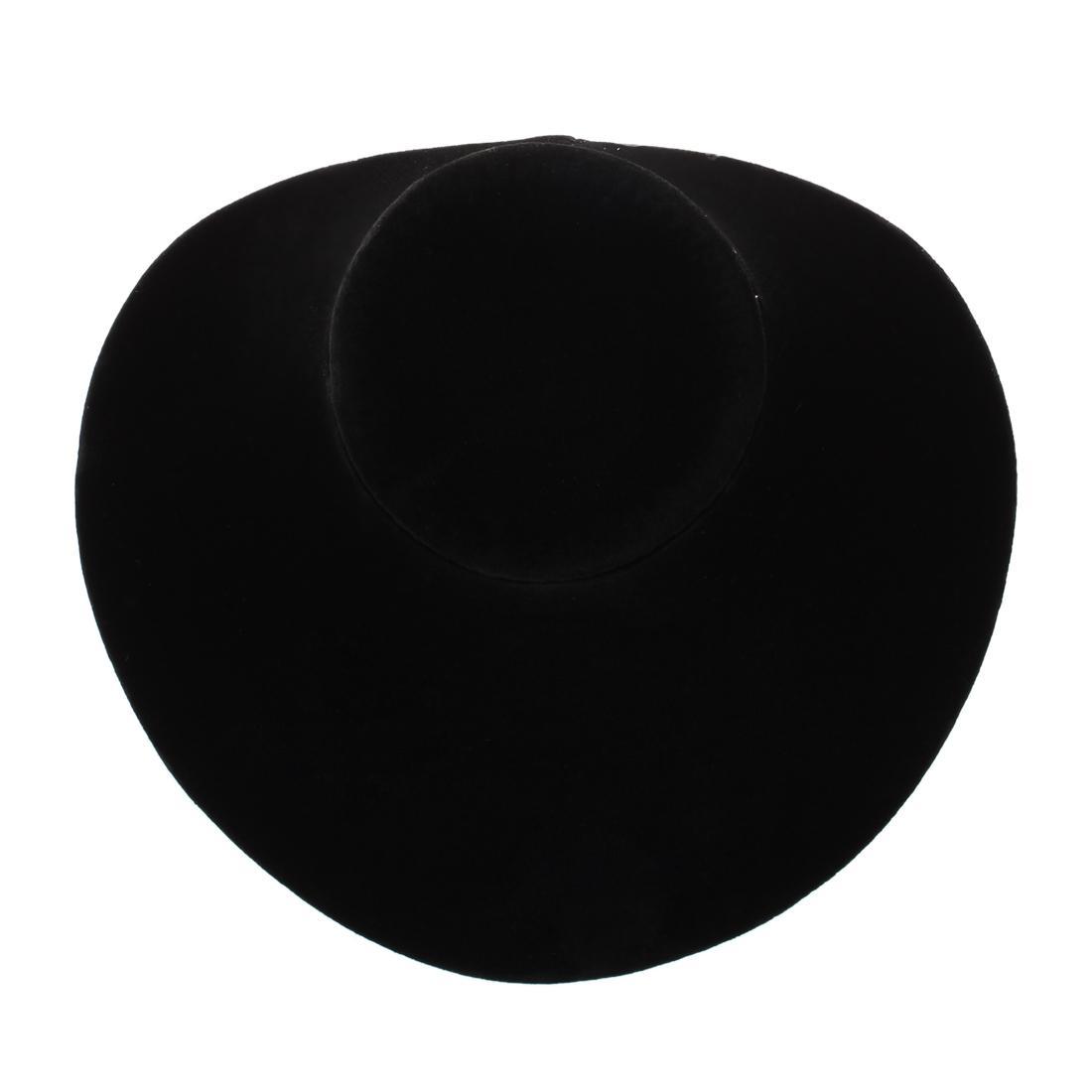 Holz Black Velvet Halskette Kette Schmuck Büste Display Halter Stand Mode 150 * 150 * 140 MM