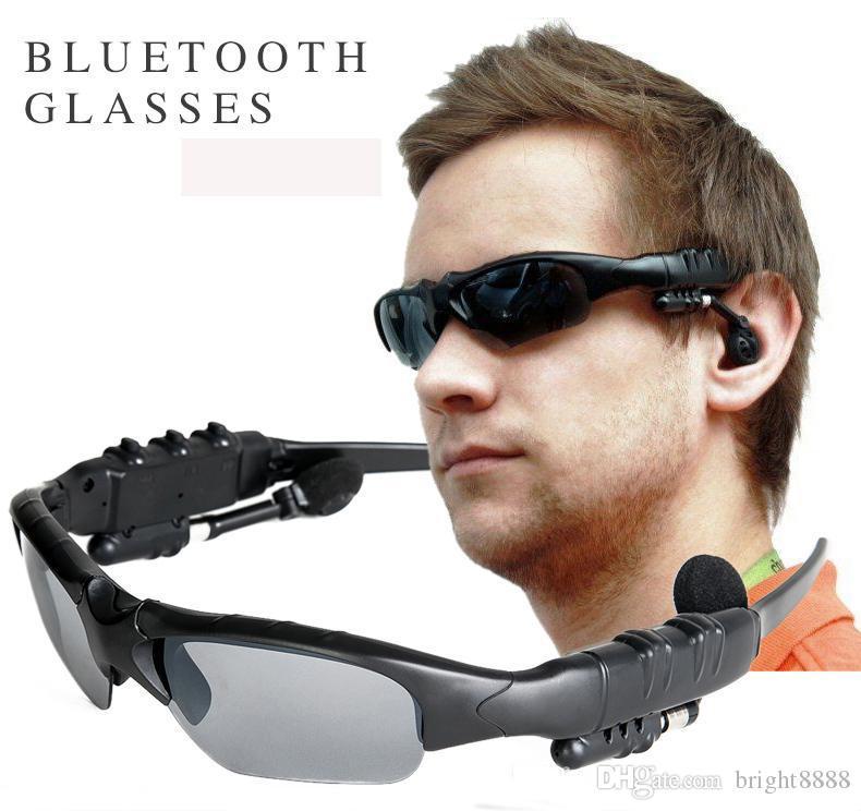 5edd888e2650 Bluetooth Sunglasses Headset Sports 3.0 Stereo Wireless Sun Glasses  Handsfree Music Call Headphone For Iphone Samsung HTC Smartphones Best  Smartphone ...
