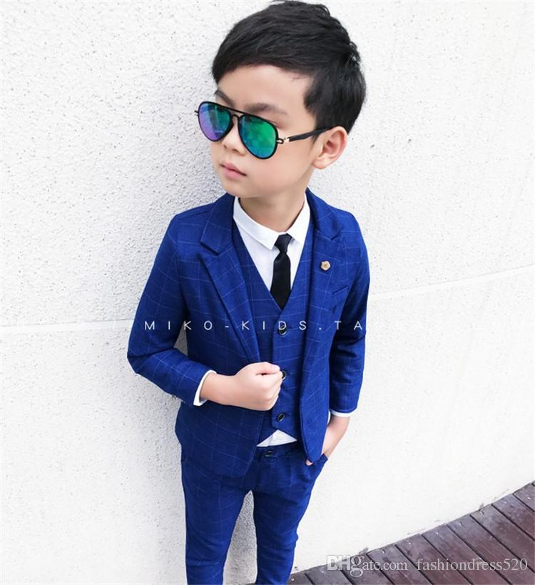 732975dde 2019 Suit For Boy Formal Boys Suits For Weddings Cotton Polyester ...