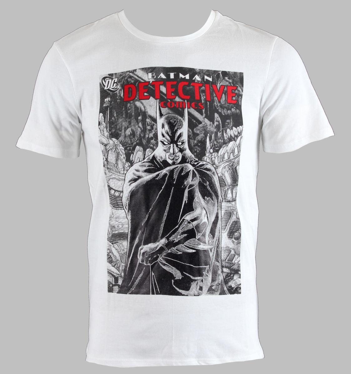 newest 13cfb e603d Herren T-Shirt Batman - Real Cape Blanc LEGENDGröße S