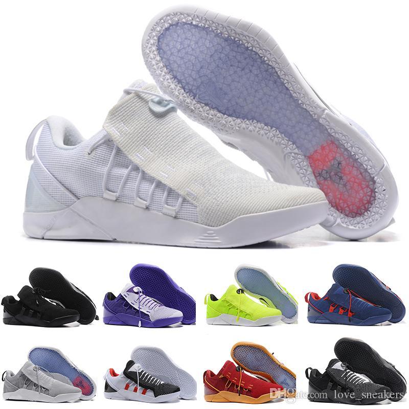 new product 29085 2bdd1 Acheter Nike Air KOBE A.D NXT HMD Haute Qualité Kobe 11 Elite Chaussures De  Basket Ball Hommes Kobe 11 Red Horse Oreo Sneakers KB 11 Chaussures De  Sport ...