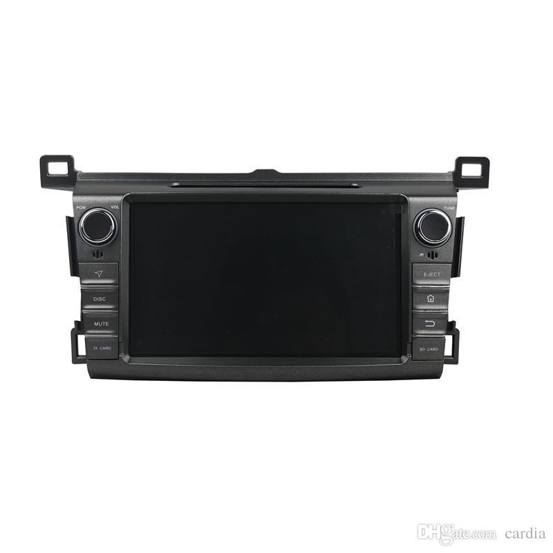 Reproductor de DVD del coche para Toyota RAV4 2013 8 pulgadas 2 GB RAM Andriod 6.0 Octa core con GPS, Bluetooth, Radio