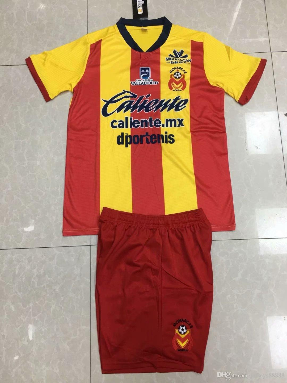 5acef92f2 2019 2018 19 Monarcas Morelia FC Away Fans Version Soccer Jersey Thai  Quality PIPILA DIEGO ENAN Football Shirts Camisetas De Futbol Yellows Home  From ...