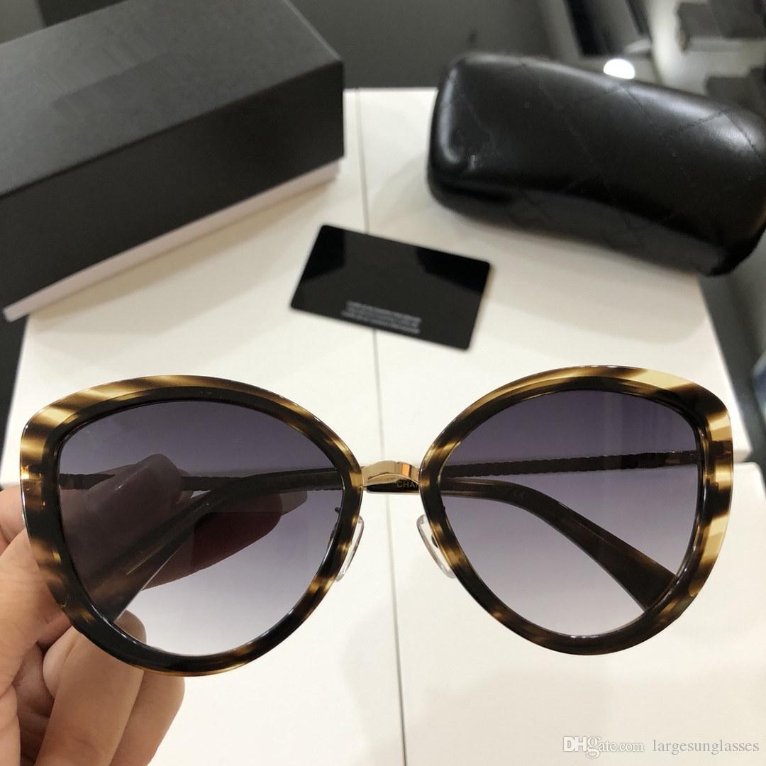 fc726c73249088 Acheter Chanel Sunglasses Custom Haute Qualité Nouvelle Mode Lunettes De  Soleil Hommes Et Femmes Lunettes Designer Marque Lunettes De Soleil Mat  Léopard ...
