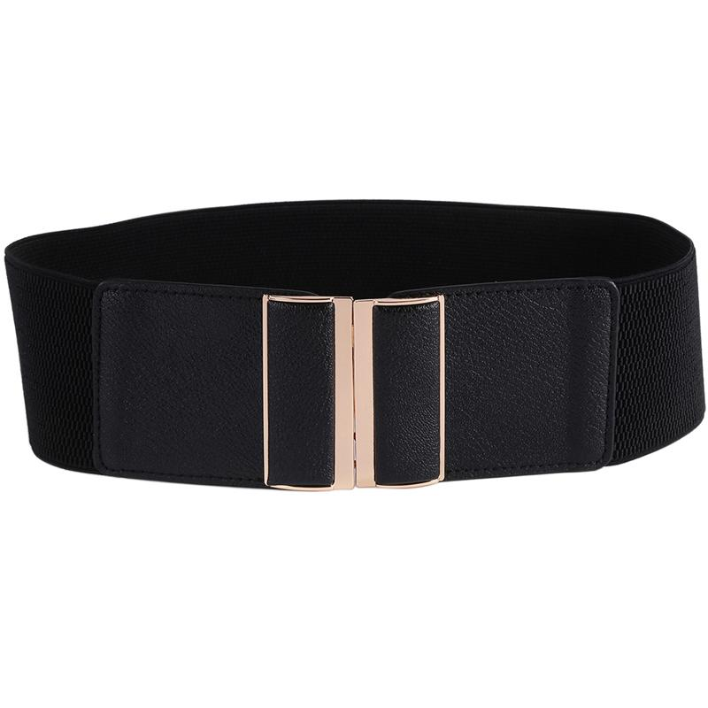 Compre Para Mujer 3 Cinturón Ancho Elástico Stretch Cinch Waistband Lady  Cummerband Accesorios Niñas Cintura Waistband Cintura Ancho Cinturón Mujer  Negro A ... 64fb7884b565