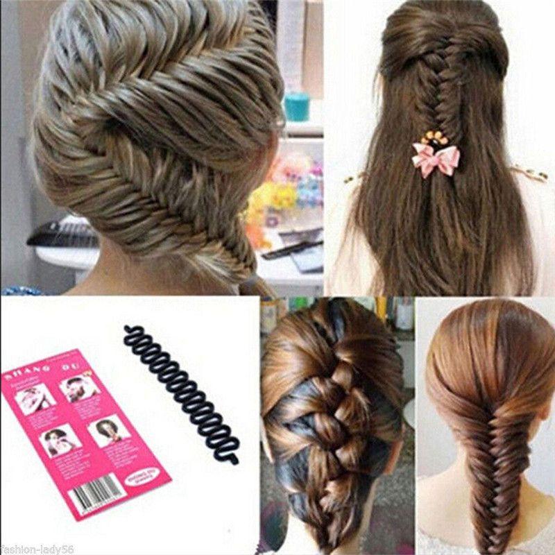 New Fashion Design Female Hair Styling Clip Stick Bun Maker Braid