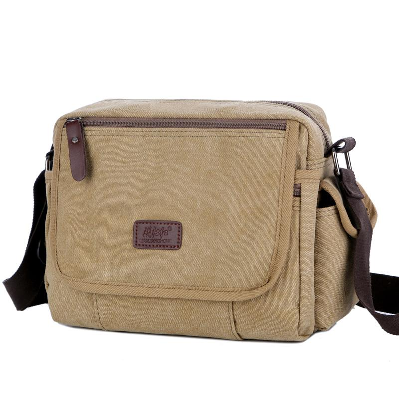 10bfddad9 Urban Daily Carry Bag Vintage Men's Messenger Bags Canvas Shoulder Bag  Casual Men Business Book Crossbody Travel Handbag
