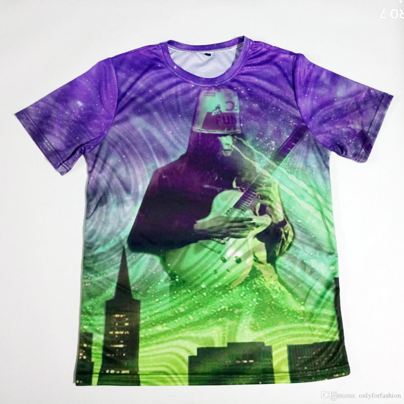 38426f40c Real American USA Size Buckethead Fashion 3D Sublimation Print T Shirt Plus  Size All T Shirt Order Tee Shirts From Onlyforfashion, $15.54| DHgate.Com