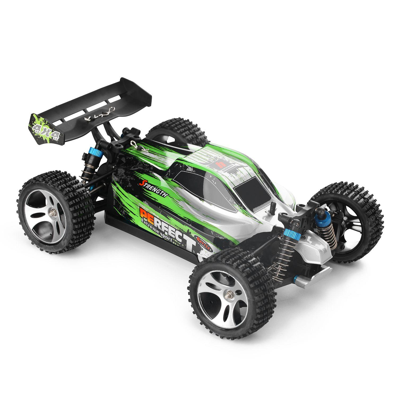 Rc Cars For Sale >> Wltoys A959 A 1 18 4wd Rc Car Off Road Car Rtr Remote Control 35km H Eu Plug