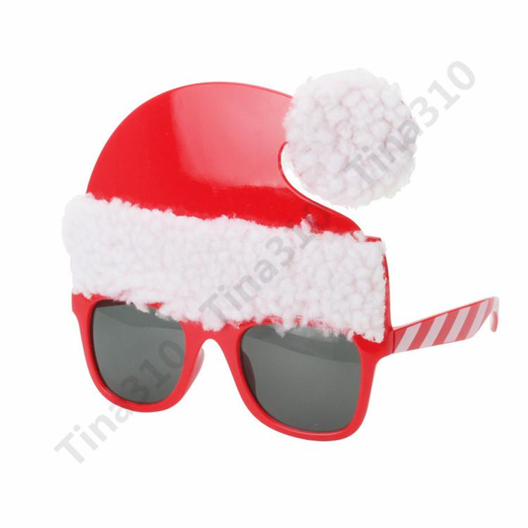 51aa27ce25 Christmas Glasses Xmas Party Decoration Props Christmas Ornament Santa  Claus Party Glasses Photo Props PROM Glasses T1I946 Christmas Glasses Party  Glasses ...