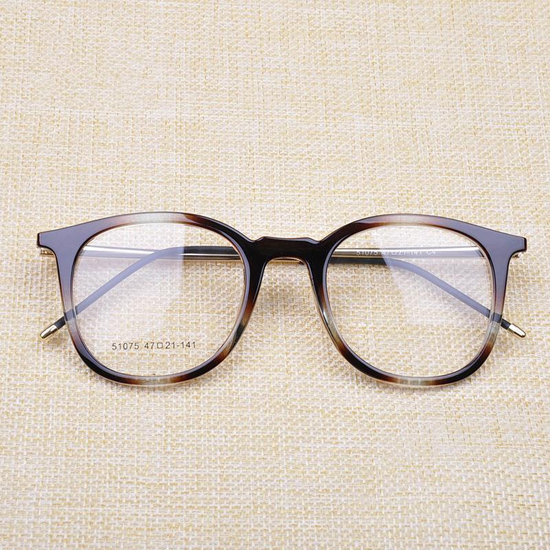 Compre VAZROBE TR90 Óculos De Armação Óculos Homens Armações De Óculos Das  Mulheres Retro Marca Redonda Eyewear Óptica Pontos Da Classe Feminina Lerdo  De ... 8c5ae0854c