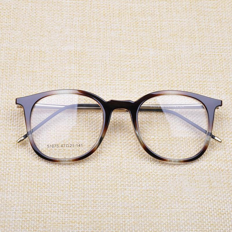 baa5cf17dcb 2019 VAZROBE TR90 Eyeglasses Frame Spectacles Men Women s Glasses Frames  Retro Round Brand Optical Eyewear Female Grade Points Nerd From  Fashionkiss