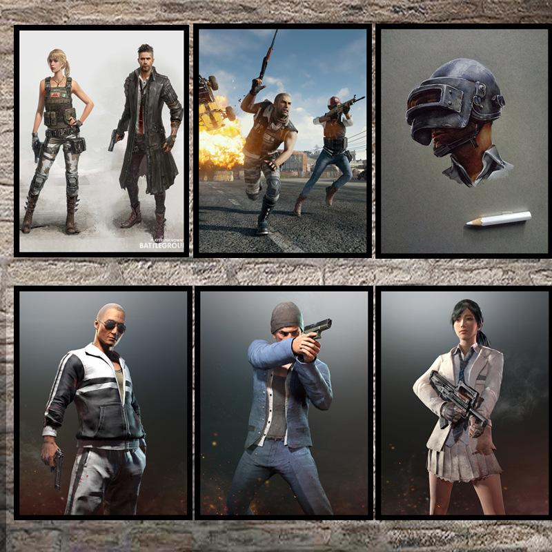 D Wallpaper Pubg Winner Winner Chicken Dinner Photo Frame Shootout Boy Room Wall Stickers Bedroom Living Room Decorative Mural Free D Wallpapers Free
