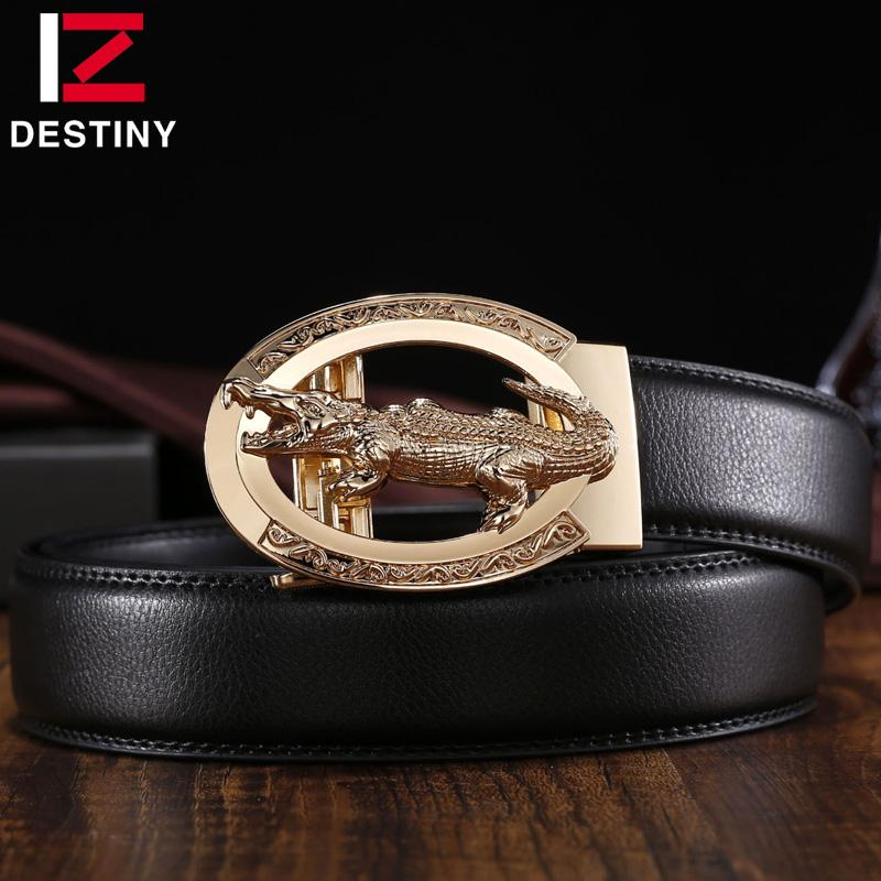 New Fashion Destiny Designer Automatic Buckle Without Belt Men Gold High Quality Metal Buckles For 3.5cm Automatic Belt Luxury Famous Brand Apparel Accessories