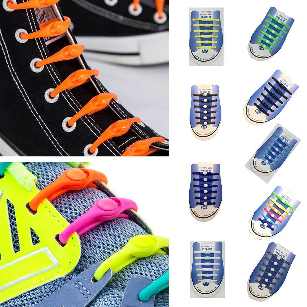 Acquista Lazy No Tie Lacci Scarpe In Silicone Elastico Athletic Running  Lacci Delle Scarpe Bambini E Adulti Stringhe Scarpe NMD Sneakers A  34.34  Dal ... bf8bdd98d90