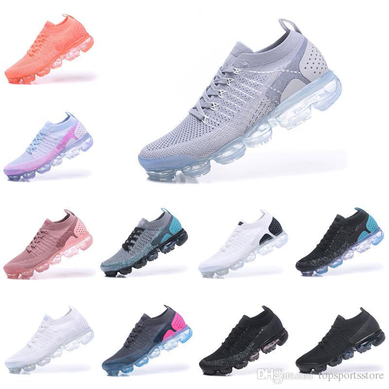 bea4ba17f85 Compre Air Vapormax 2018 Vapormax 2.0 Nuevos Zapatos Para Correr Para  Hombres Triple S Blanco Negro Cool Gris TPU Trainers Diseñador De Moda  Sport Sneakers ...