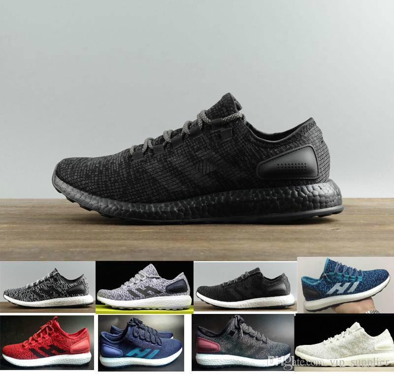 3ad9542c7b5cf High Quality Y 3 Pure Boost Primeknit ZG Kint Triple White Black Ultra Boost  Running Shoes Y3 Pureboost Outrdoor Shoes Sports Shoes Sneaker Shoes  Running ...