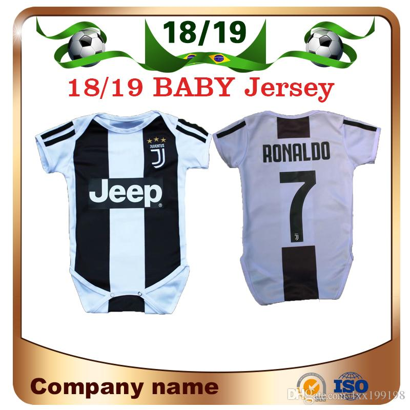 2019 2019 Baby Juventus Soccer Jersey 18 19 Juventus Home 7 Ronaldo 9  HIGUAIN 10 DYBALA 6 To18 Month Kids Football Shirt Conjoined Creeping Suit  From ... a29e85aba