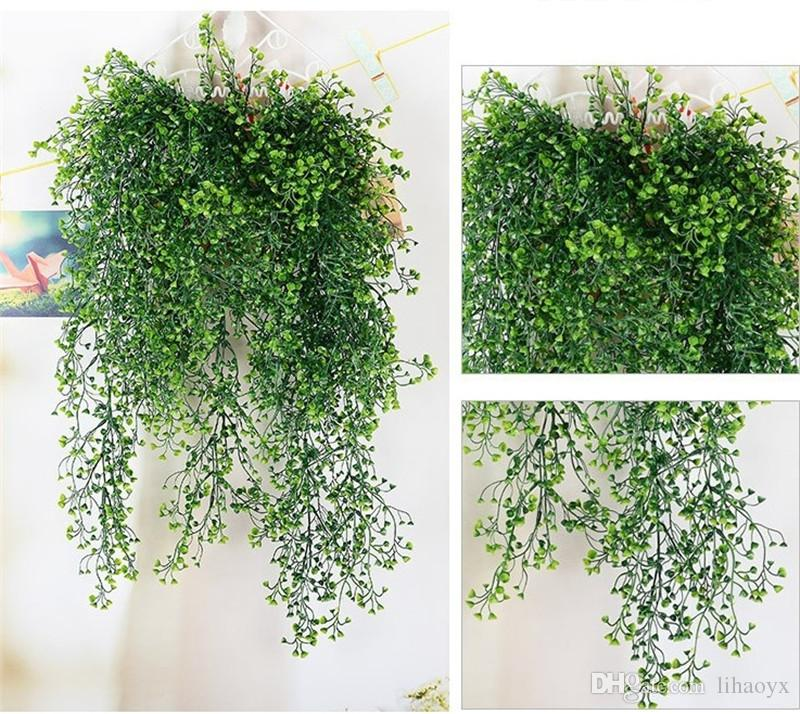 Artificial Ivy Leaf Artificial Plants Green Garland Plants Vine Fake Foliage Home Christmas Wedding Decoration c408