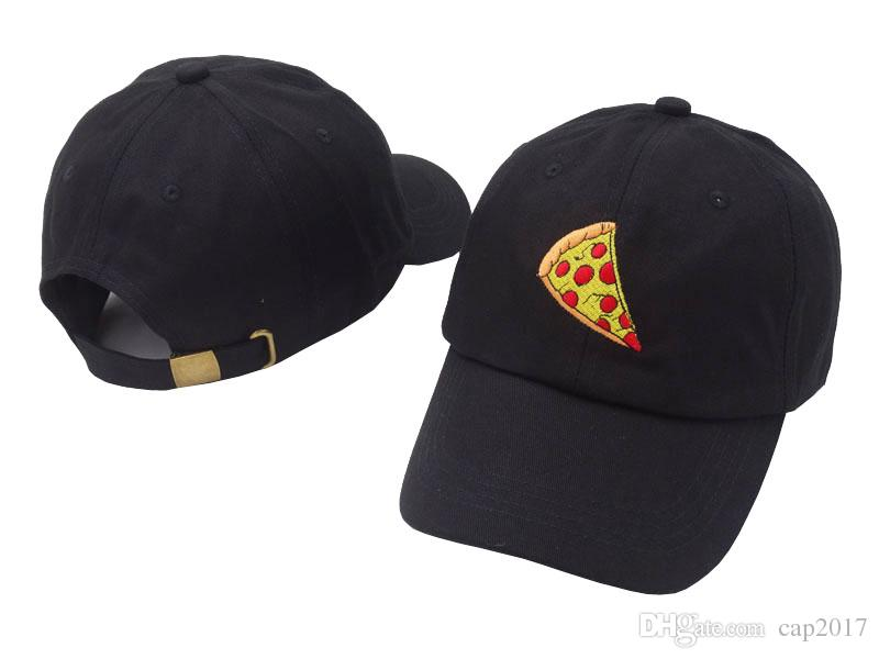 2dac1fdce 2018 Brand New Pizza Embroidery Baseball Cap Trucker Hat for Women Men  Unisex Adjustable Size Dad Cap Hats