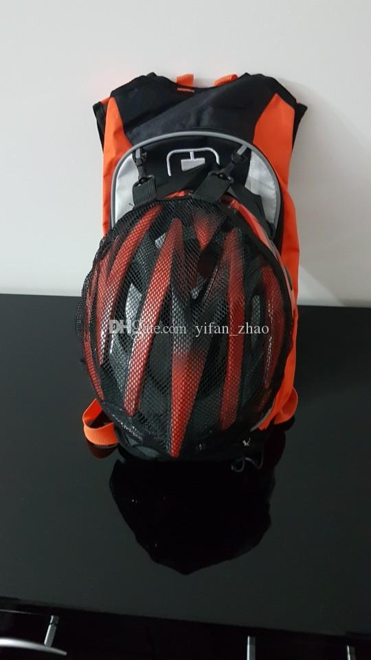 Nueva mochila KTM para motocross Off Road Racing con bolsa de agua TPU Bike Bicycle Sport Luguage Pack