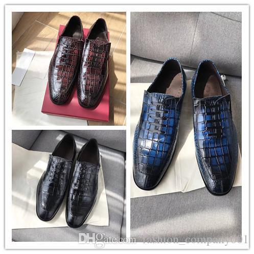 Cimim Brand Formal Shoes Men High-end Custom Men Leather Dress Shoes Fashion Flock Big Size Loafers Men Casual Office Men Shoes Shoes