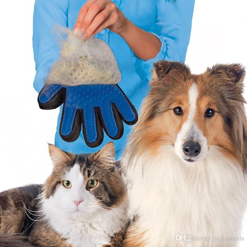 Silicone Pet Brush Glove Cat Dog Grooming Comb Furminat for Cat Dog Bath Cleaning Brush Deshedding Gentle Efficient Hair Removal