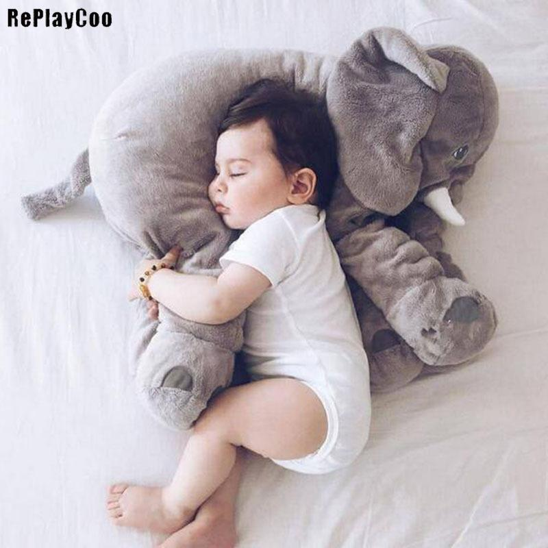 2019 Elephant Plush Toy Giant Stuffed Cartoon Stuffed Animal Soft