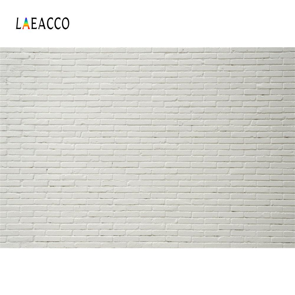 2018 laeacco white brick wall portrait party stage grunge