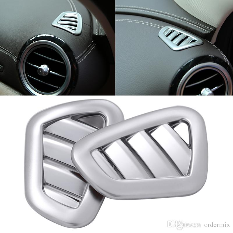 car air vent cover chrome voiture air vent cover Trim car decorative car styling accessories For Mercedes Benz E-Class W213 2016